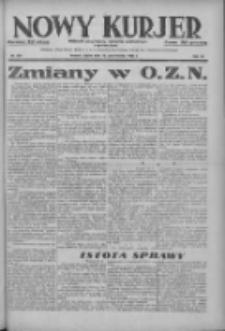 Nowy Kurjer: dziennik poświęcony sprawom politycznym i społecznym 1937.10.29 R.48 Nr250