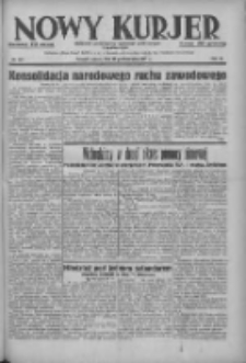 Nowy Kurjer: dziennik poświęcony sprawom politycznym i społecznym 1937.10.30 R.48 Nr251