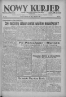 Nowy Kurjer: dziennik poświęcony sprawom politycznym i społecznym 1937.10.31 R.48 Nr252
