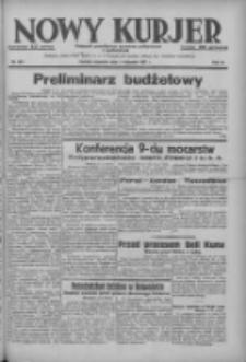 Nowy Kurjer: dziennik poświęcony sprawom politycznym i społecznym 1937.11.04 R.48 Nr254
