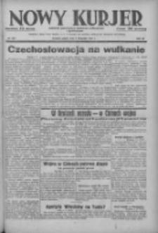 Nowy Kurjer: dziennik poświęcony sprawom politycznym i społecznym 1937.11.05 R.48 Nr255