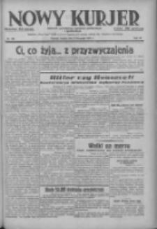 Nowy Kurjer: dziennik poświęcony sprawom politycznym i społecznym 1937.11.06 R.48 Nr256