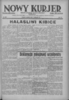 Nowy Kurjer: dziennik poświęcony sprawom politycznym i społecznym 1937.11.07 R.48 Nr257