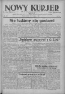 Nowy Kurjer: dziennik poświęcony sprawom politycznym i społecznym 1937.11.09 R.48 Nr258