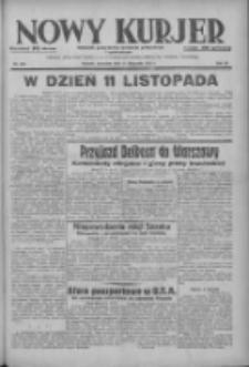 Nowy Kurjer: dziennik poświęcony sprawom politycznym i społecznym 1937.11.11 R.48 Nr260