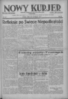 Nowy Kurjer: dziennik poświęcony sprawom politycznym i społecznym 1937.11.13 R.48 Nr261