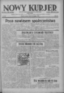 Nowy Kurjer: dziennik poświęcony sprawom politycznym i społecznym 1937.11.14 R.48 Nr262