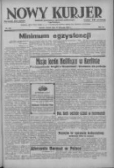 Nowy Kurjer: dziennik poświęcony sprawom politycznym i społecznym 1937.11.16 R.48 Nr263