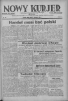 Nowy Kurjer: dziennik poświęcony sprawom politycznym i społecznym 1937.11.17 R.48 Nr264