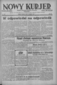 Nowy Kurjer: dziennik poświęcony sprawom politycznym i społecznym 1937.11.18 R.48 Nr265