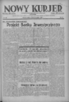 Nowy Kurjer: dziennik poświęcony sprawom politycznym i społecznym 1937.11.21 R.48 Nr268