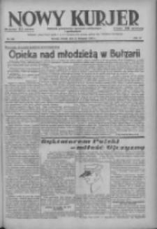 Nowy Kurjer: dziennik poświęcony sprawom politycznym i społecznym 1937.11.23 R.48 Nr269