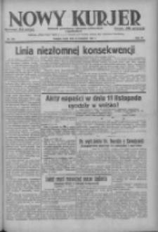 Nowy Kurjer: dziennik poświęcony sprawom politycznym i społecznym 1937.11.24 R.48 Nr270