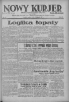 Nowy Kurjer: dziennik poświęcony sprawom politycznym i społecznym 1937.11.25 R.48 Nr271
