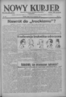 Nowy Kurjer: dziennik poświęcony sprawom politycznym i społecznym 1937.11.26 R.48 Nr272