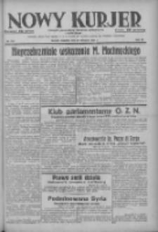 Nowy Kurjer: dziennik poświęcony sprawom politycznym i społecznym 1937.11.28 R.48 Nr274