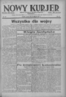 Nowy Kurjer: dziennik poświęcony sprawom politycznym i społecznym 1937.11.30 R.48 Nr275