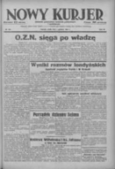 Nowy Kurjer: dziennik poświęcony sprawom politycznym i społecznym 1937.12.01 R.48 Nr276