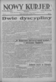 Nowy Kurjer: dziennik poświęcony sprawom politycznym i społecznym 1937.12.12 R.48 Nr285