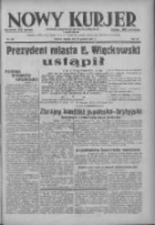 Nowy Kurjer: dziennik poświęcony sprawom politycznym i społecznym 1937.12.14 R.48 Nr286
