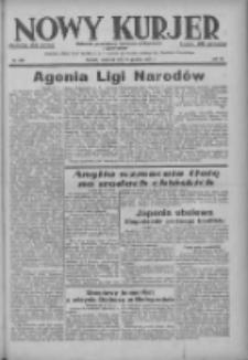 Nowy Kurjer: dziennik poświęcony sprawom politycznym i społecznym 1937.12.16 R.48 Nr288