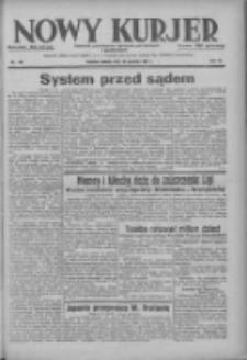 Nowy Kurjer: dziennik poświęcony sprawom politycznym i społecznym 1937.12.18 R.48 Nr290