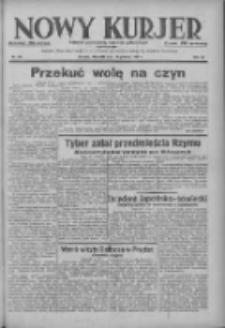 Nowy Kurjer: dziennik poświęcony sprawom politycznym i społecznym 1937.12.19 R.48 Nr291