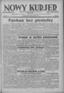 Nowy Kurjer: dziennik poświęcony sprawom politycznym i społecznym 1937.12.22 R.48 Nr293