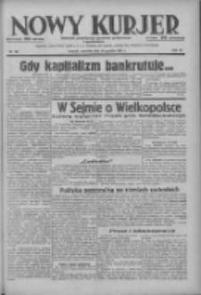 Nowy Kurjer: dziennik poświęcony sprawom politycznym i społecznym 1937.12.23 R.48 Nr294