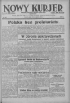 Nowy Kurjer: dziennik poświęcony sprawom politycznym i społecznym 1937.12.24 R.48 Nr295