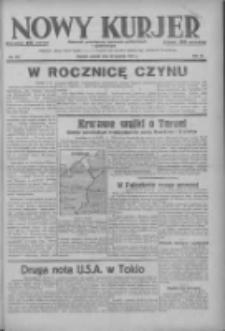 Nowy Kurjer: dziennik poświęcony sprawom politycznym i społecznym 1937.12.28 R.48 Nr297