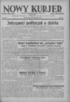 Nowy Kurjer: dziennik poświęcony sprawom politycznym i społecznym 1937.12.29 R.48 Nr298
