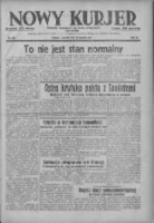 Nowy Kurjer: dziennik poświęcony sprawom politycznym i społecznym 1937.12.30 R.48 Nr299