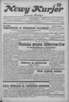 """Nowy Kurjer: dawniej """"Postęp"""" 1932.11.11 R.43 Nr260"""
