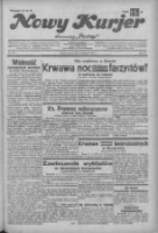 """Nowy Kurjer: dawniej """"Postęp"""" 1932.11.12 R.43 Nr261"""
