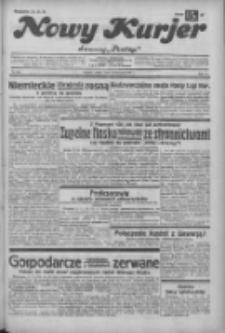 """Nowy Kurjer: dawniej """"Postęp"""" 1932.11.18 R.43 Nr266"""