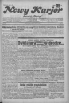 """Nowy Kurjer: dawniej """"Postęp"""" 1932.11.19 R.43 Nr267"""