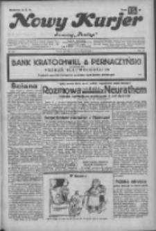 """Nowy Kurjer: dawniej """"Postęp"""" 1932.11.20 R.43 Nr268"""