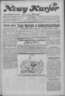 """Nowy Kurjer: dawniej """"Postęp"""" 1932.11.22 R.43 Nr269"""