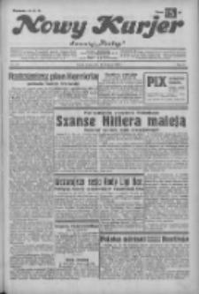 """Nowy Kurjer: dawniej """"Postęp"""" 1932.11.23 R.43 Nr270"""
