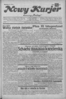 """Nowy Kurjer: dawniej """"Postęp"""" 1932.11.24 R.43 Nr271"""