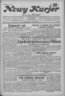 """Nowy Kurjer: dawniej """"Postęp"""" 1932.11.25 R.43 Nr272"""