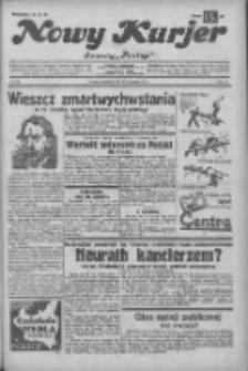 """Nowy Kurjer: dawniej """"Postęp"""" 1932.11.27 R.43 Nr274"""