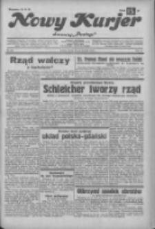 """Nowy Kurjer: dawniej """"Postęp"""" 1932.11.29 R.43 Nr275"""