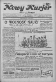"""Nowy Kurjer: dawniej """"Postęp"""" 1932.12.04 R.43 Nr280"""