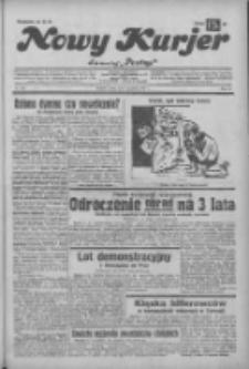 """Nowy Kurjer: dawniej """"Postęp"""" 1932.12.07 R.43 Nr282"""