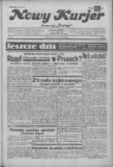 """Nowy Kurjer: dawniej """"Postęp"""" 1932.12.10 R.43 Nr284"""
