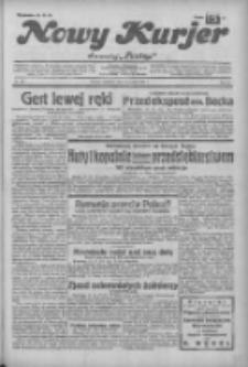 """Nowy Kurjer: dawniej """"Postęp"""" 1932.12.11 R.43 Nr285"""