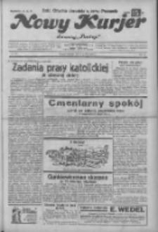 """Nowy Kurjer: dawniej """"Postęp"""" 1932.12.18 R.43 Nr291"""