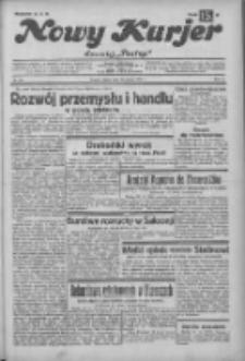 """Nowy Kurjer: dawniej """"Postęp"""" 1932.12.23 R.43 Nr295"""